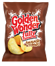 Golden Wonder Sausage and Tomato Crisps 25g 30 Bags Multipack Box