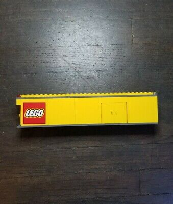 LEGO City Truck (3221) Trailer Only Incomplete Yellow Logo Sticker