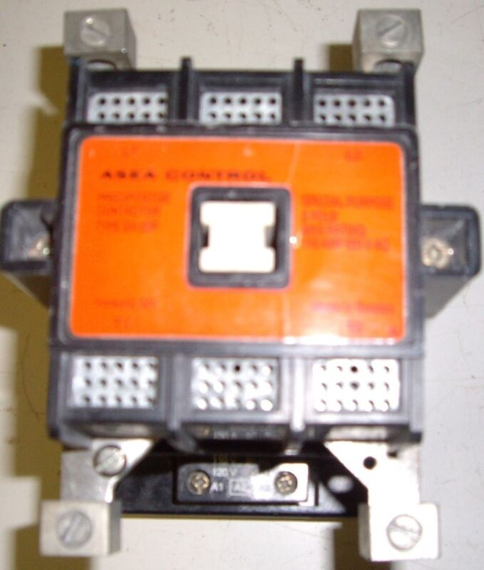 ASEA EH50P 110 A 600V , 2 Pole Contactor 120V Coil Used