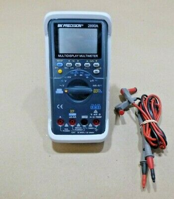 Bk Instruments 2890a Deluxe Dual Display 51000 Count Dmm - True Rms Acv Aca