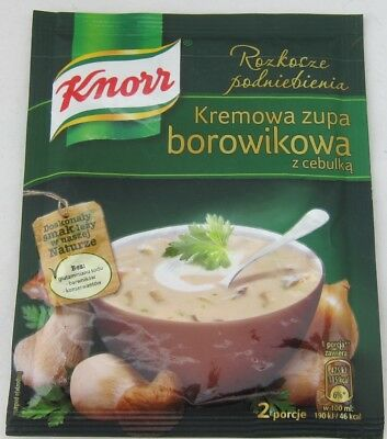 Knorr Creamy - KNORR Creamy Boletus Soup with onion - Made in Germany