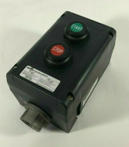 CROUSE HINDS GHG432 Nonmetallic Control Station Start/Stop Explosion Protected