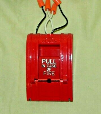Aip Alarm Industry Products Pull Down Fire Alarm Station Box A1270a-spo