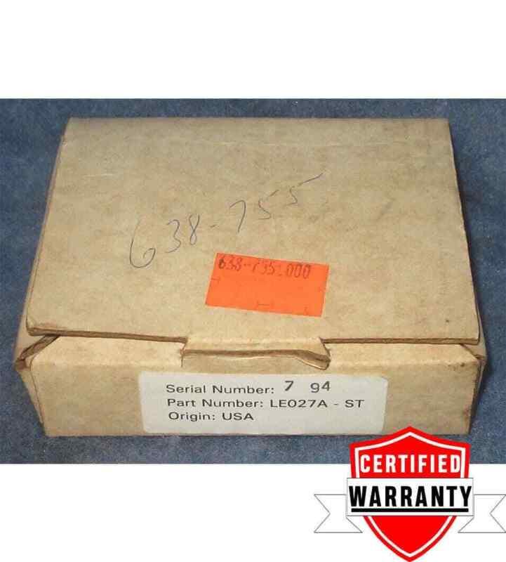 NIB Black Box LE027A-ST Mini F/O Transceiver 1 Year Warranty