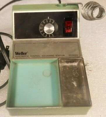 Weller Electronic Soldering Station Ec3000
