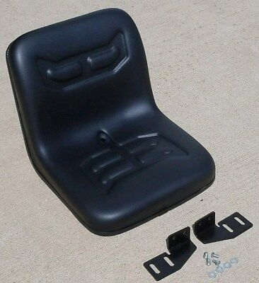 Compact Utility Tractor Flip Seat W Brackets For Ford 1200 1300 1500 1700 1900