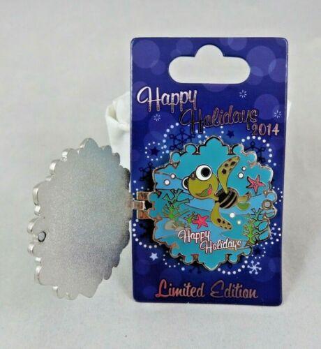 Disney WDW Pin - Happy Holidays 2014 Snowflakes - Vero Beach Resort - Squirt