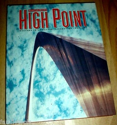 High Point Reading 4th Grade 4 READER TEXT English Language Arts HOMESCHOOL GOOD
