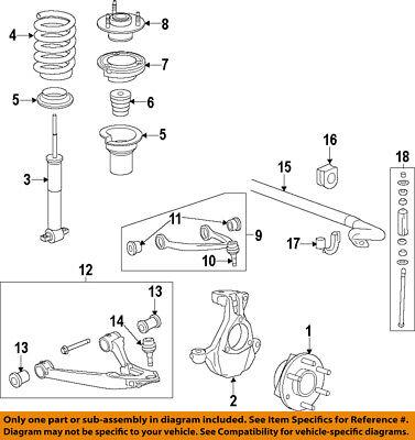 GM OEM Front Suspension-Mount 25940743