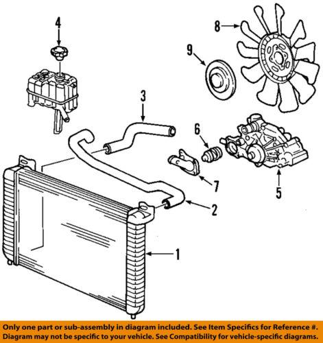 GM OEM-Engine Coolant Thermostat 89018168