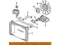 GM OEM Water Pump-Water Inlet Gasket 12635750