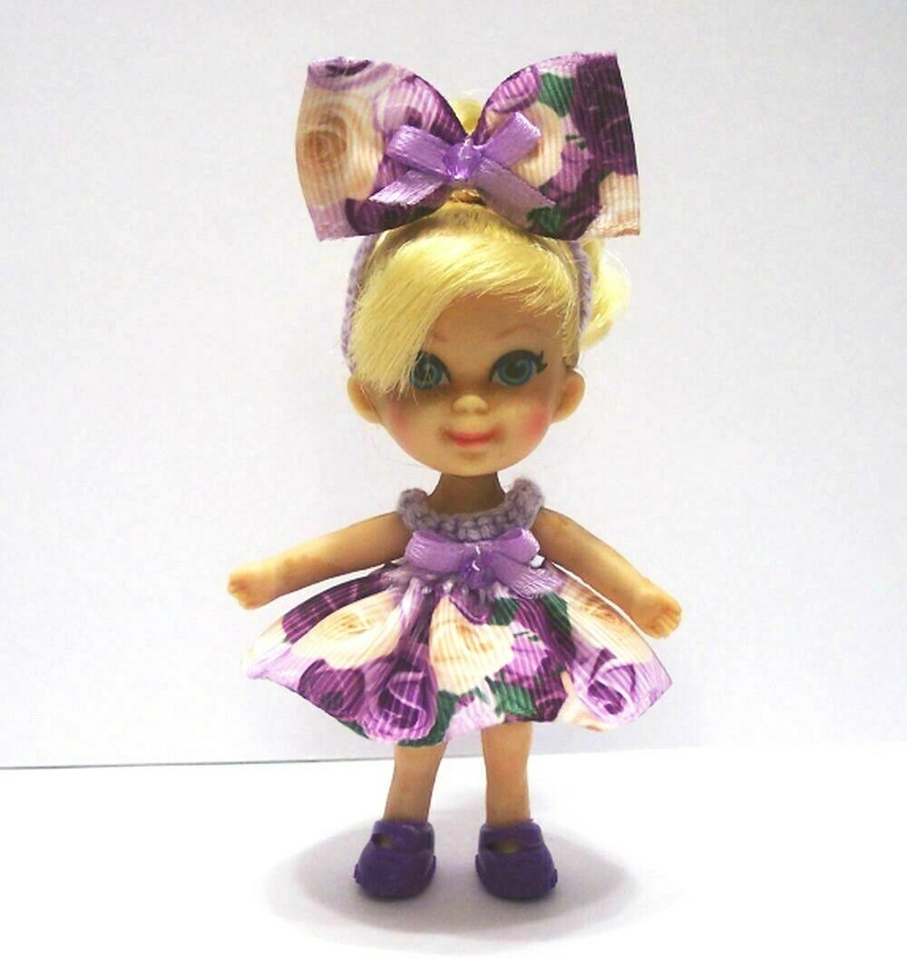 LIDDLE KIDDLE CLOTHES OUTFIT SET SHOES For VINTAGE MATTEL 3 DOLL NOT INCLUDED - $14.99