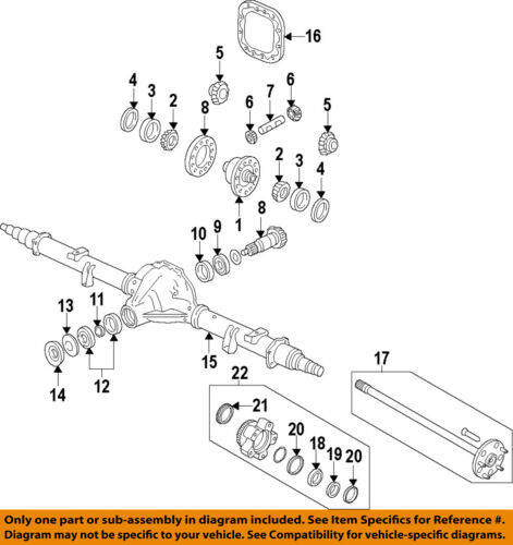 FORD OEM Rear Differential-Rear Pinion Bearing BC3Z4630A