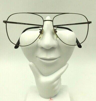Vintage Personal Eyes Bailey 7505 Brown Metal Aviator Sunglasses Frames (Personalized Aviator Sunglasses)