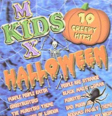 New: KIDS MIX HALLOWEEN CD (10 Halloween Hits) Monster Mash, Ghostbusters + - Halloween Mix Monster Mash
