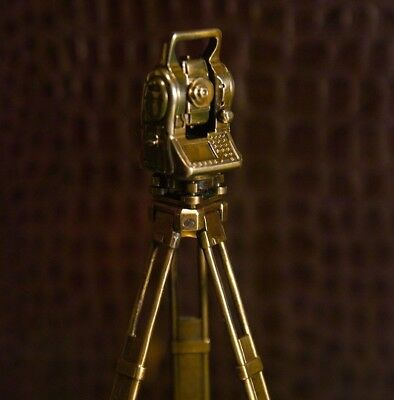 Gift Set For The Surveyor Tripod Tacheometer Stone Engraving