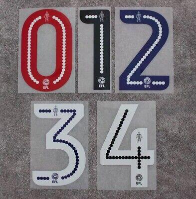 Peterborough Utd | EFL League One Shirt Name & Number Set 2016/17 - 2017/18 image