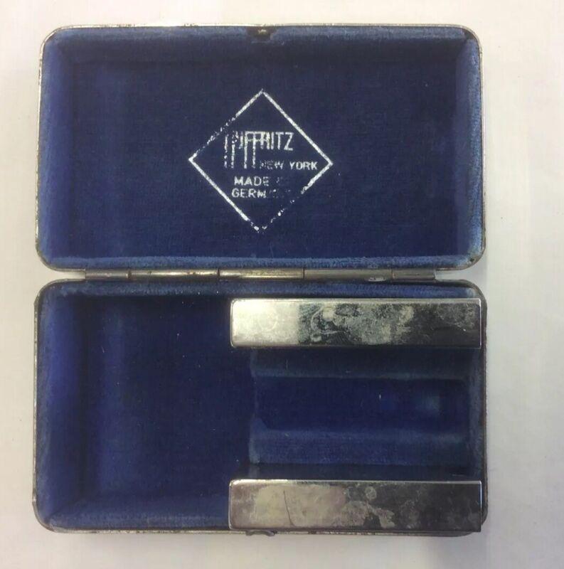 Hoffritz Razor Case - Silver Plated