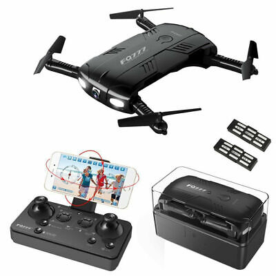 FQ777 FQ05 6-Axis Toy Helicopter Drone Camera Selfie Foldable Gift UK Stock