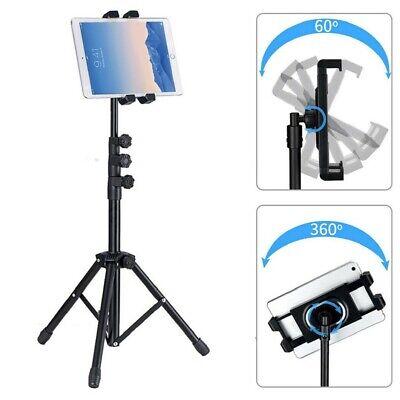 Adjustable Floor Tablet Stand Holder Tripod for iPad Mini Samsung Galaxy Tablets