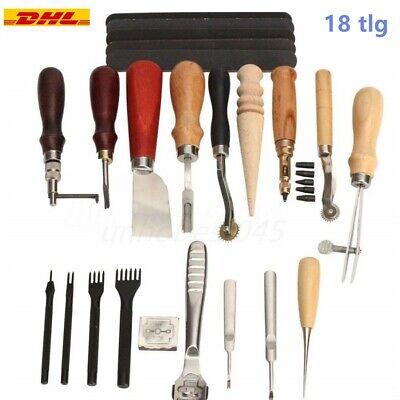 erkzeug Set Schneiden Nähen Schnitzen Stanzen Lochen Werkzeug (Werkzeug Handwerk)