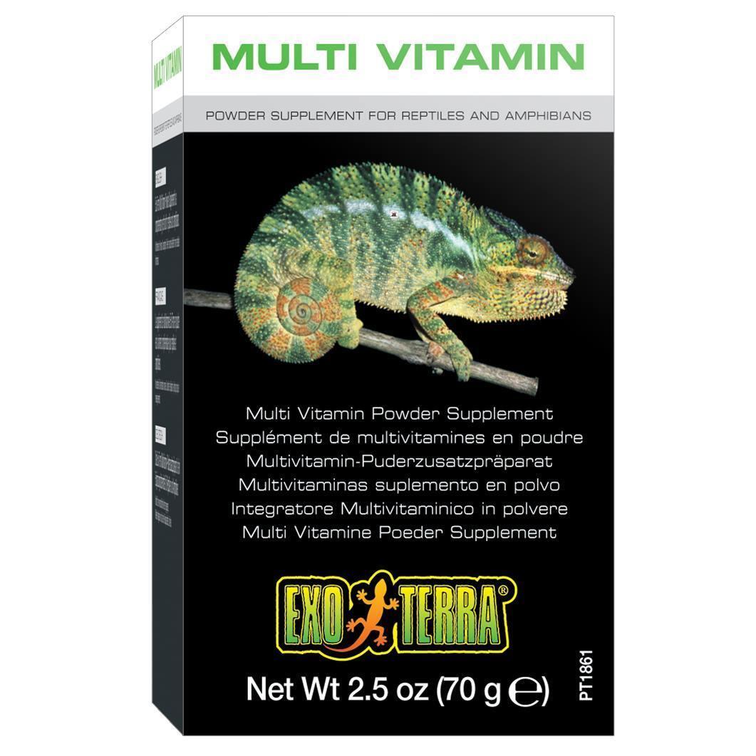 Exo Terra Multivitamin Puderzusatzpräparat für Reptilien Amphibien ab 8,49 Euro