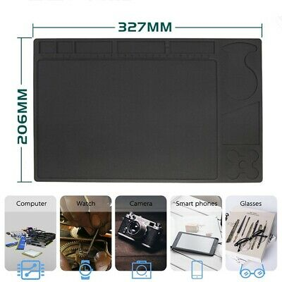 Silicone Esd Heat Insulation Soldering Working Mat High Temperature Resistance