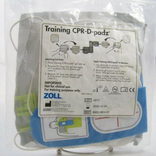 ZOLL Training CPR-D-padz (Exp. 10-21-2022) Prepaid Shipping (Item #8900-0804-01)