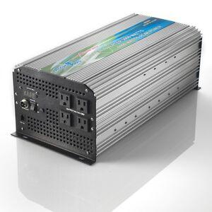 NEW 24 VOLT PURE SINE WAVE POWER INVERTER 3000/6000 WATT DC TO AC! 24V to 120V!