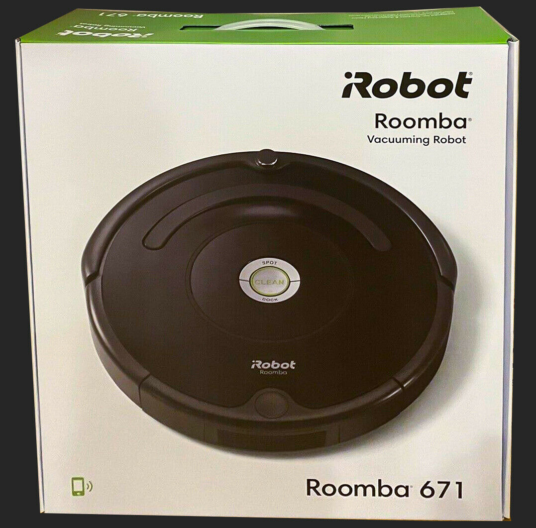 iRobot Roomba 671 Robot Aspirapolvere Pulizia ad Alte Prestazioni - GARANZIA ITA