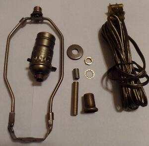 table lamp parts ebay rh ebay com vintage lamp wiring antique lamp wiring repair