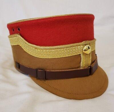 WW2 German Cheif of Staff Generals Officers Peak Visor Hat Cap Kepi Schirmuttzen (Cheif Hat)
