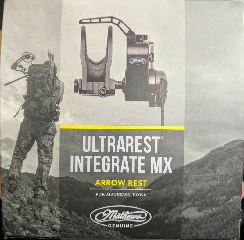 Mathews UltraRest Integrated MX - Black - LH - New!!!