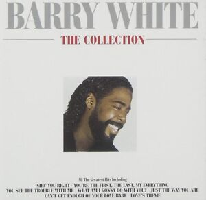 BARRY WHITE THE COLLECTION CD (GREATEST HITS / VERY BEST OF)