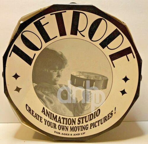 ZOETROPE Animation Studio 1990 Made USA Vintage RARE