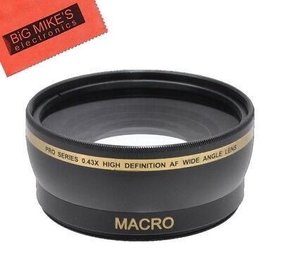 67mm Wide Angle Lens for Nikon CoolPix P900 Digital Camera (Nikon Coolpix Wide Angle)