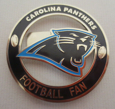Nfl Football Mens Ring (CAROLINA PANTHERS POWER PIN MAGNETIC FAN BADGE HALO SPORTS INC NFL FOOTBALL NEW )