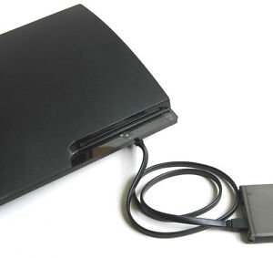New-Slim-PS3-Hard-Disk-HD-Extender-E-SATA-interface-connect-to-HD-enclosure-u