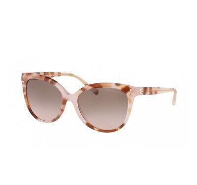 WMN MK Michael Kors 2045 Jan Sunglasses 379111 Milky Coral Tort/Peach MSRP $99