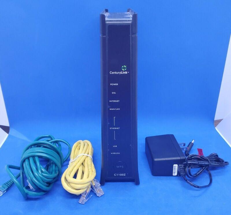 CenturyLink C1100Z ZyXel Wireless WiFi Modem Router.