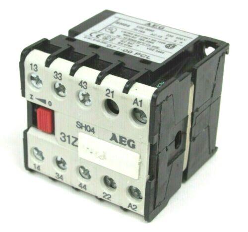USED AEG SH04 SH04-31Z 071-00 PCL MINI RELAY SH0431Z 07100PCL