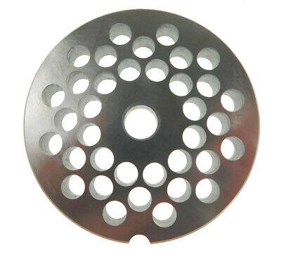 22 X 516 8mm Ss Meat Grinder Plate For Biro Or Berkel 3 316 Diameter