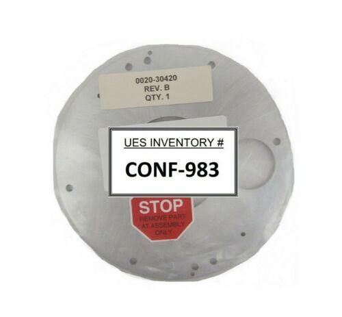 "Amat Applied Materials 0020-30420 8"" Pedestal Cover New Surplus"