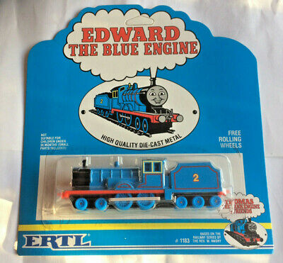 NEW ERTL EDWARD THE BLUE ENGINE 1989 MODEL FROM THOMAS THE TANK ENGINE FRIENDS
