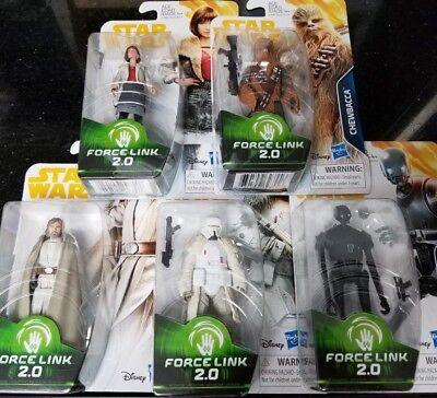 "Star Wars 3.75"" Solo Wave 1 Set QI"
