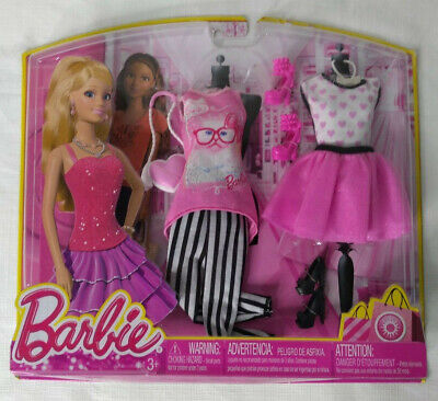 Barbie Life In The Dreamhouse Doll Fashion New 2013 Heart & Cat Shirt Red Dress