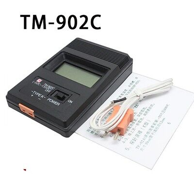 Tm-902c Digital Lcd K Type Thermometer Meter Single Input Thermocouple Probe