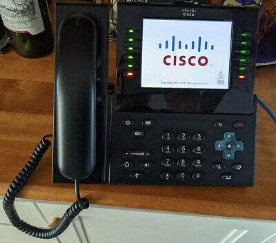Cisco Cp-9971 Phones Lot Of Three With Cameras