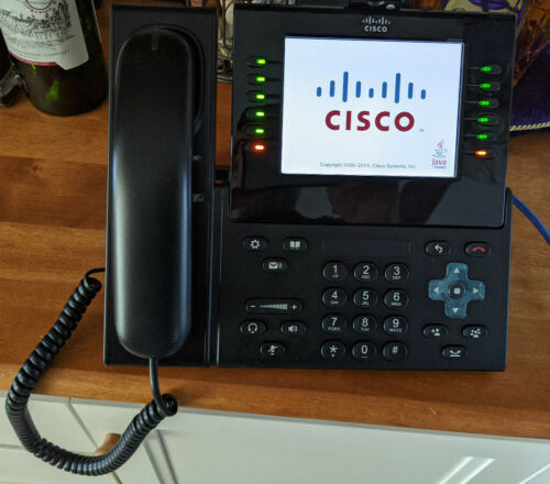 Cisco CP-9971 Phones (Lot of Three) With Cameras