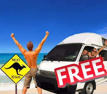 Campervan rentals - we have free relocations Sydney City Inner Sydney Preview